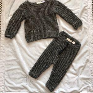 ZARA baby boys knit set